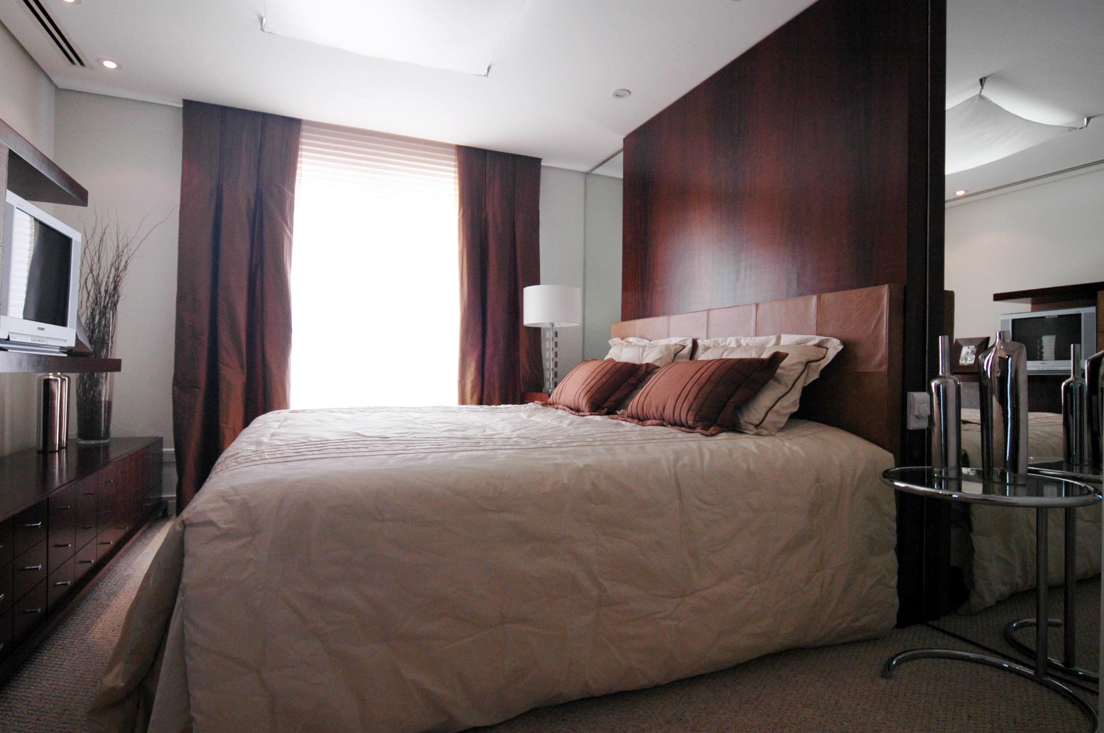 Conforto é fundamental no quarto do casal - Cleon Gostinski