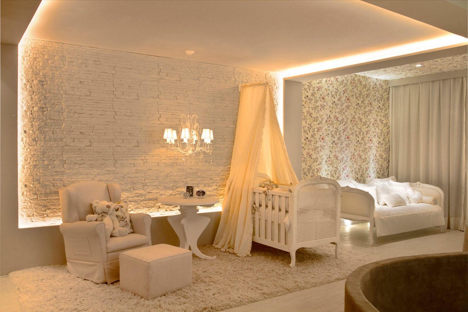 Um quarto de criança claro e minimalista - Cleon Gostinski