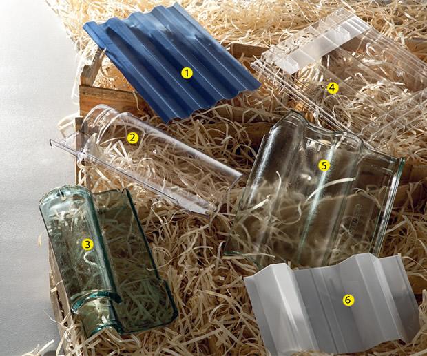 Telhas translúcidas - 12 modelos para solucionar a iluminação daquele cantinho escuro de sua casa