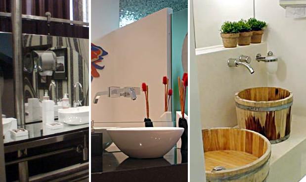 Banheiros sustentáveis 9 projetos que brilharam em mostras de decoração Vive # Decoracao De Banheiro Sustentavel