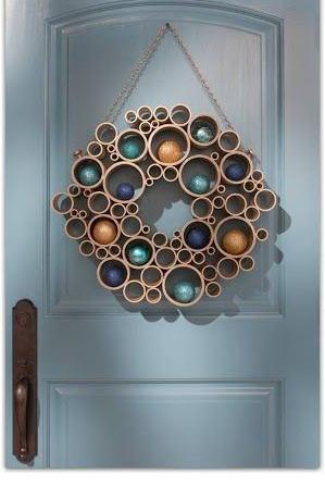 Aprenda como fazer uma linda decoração com tubos de PVC