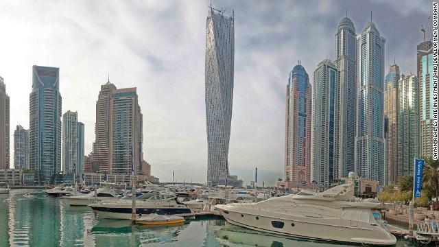Cayan Torre do SOM em Dubai ganha uma Architizer A Award +
