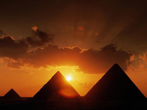 Arquitetura Egípcia Pirâmides