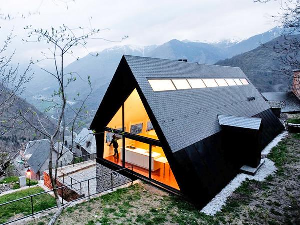 Casa contemporânea na Espanha