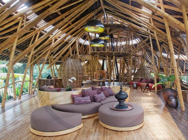 Fant 225 Stica Casa Feita De Bambu Viver Bem Agora