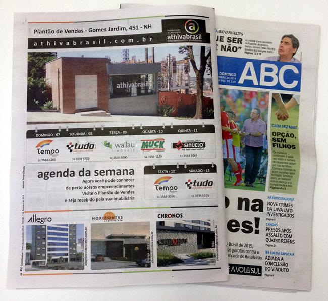 Anúncio ABC classificados