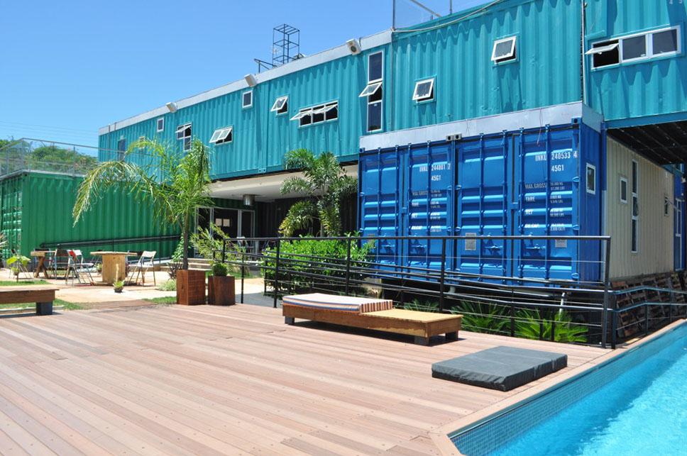 arquitetura com containers