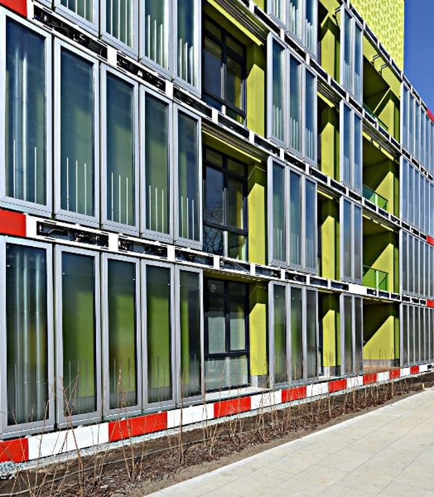 Primeiro edifício com energia gerada por algas