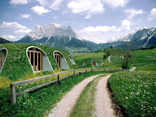 Casas pré-fabricadas de Hobbit estão a venda na Nova Zelândia